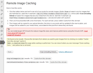 running-cached-images