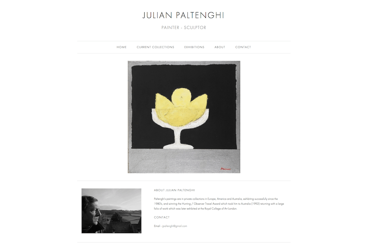 Julian Paltenghi Painter and Sculptor