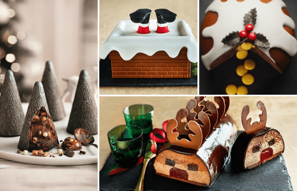 Top Food Trends for Christmas 2017 - Reveal Cakes